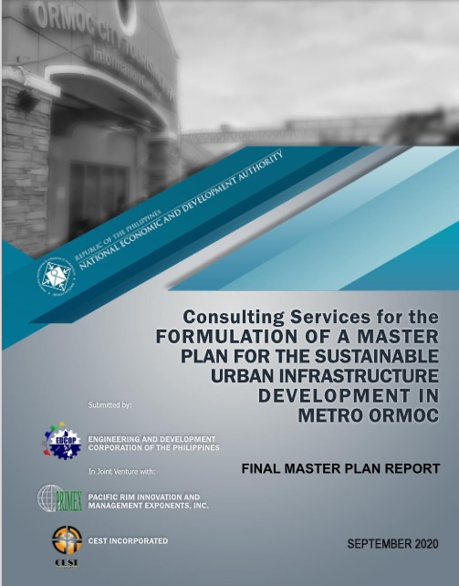 Master Plan for the Sustainable Urban Infrastructure Development in Metro Ormoc